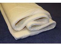 NEW, Unused. 4ft6 double Visco Elastic memory foam mattress topper.Matress visco layer