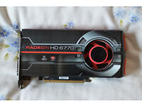 AMD Radeon HD 6770 1GB graphics card by XFX