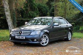 2008 Mercedes-Benz C Class 2.1 C220 CDI Sport 4dr Auto £6495