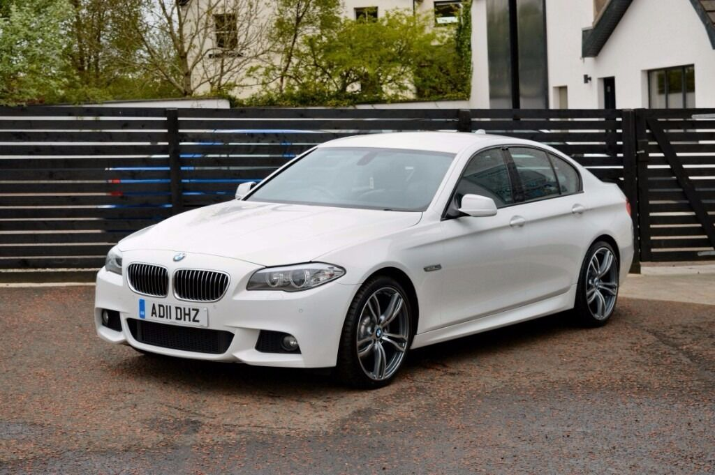 2011 bmw f10 520d m sport alpine white fbmwsh low rate. Black Bedroom Furniture Sets. Home Design Ideas