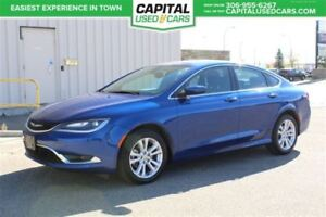 2015 Chrysler 200 Limited *Push Start* Bluetooth,Tch Screen, Hea
