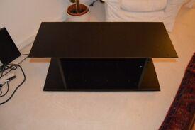 Black Ikea TV Table