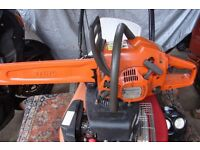 efco 137 chainsaw with 14 inch bar and chain
