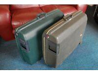 2 x Samsonite suitcases