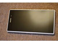 Sony Z1 -16GB White in Excellent Condition- Fixed Price