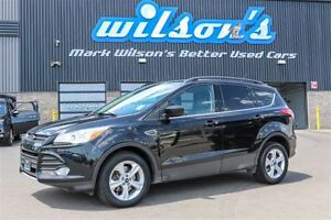 2014 Ford Escape SE 4X4 LEATHER! NAVIGATION! NEW TIRES+BRAKES! $