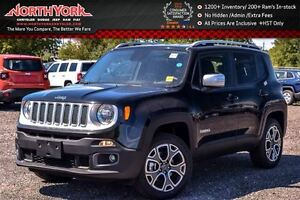 2016 Jeep Renegade NEW Car Limited|Keyless Go&Prem Nav Pkgs|Rear