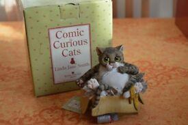 Border Fine Arts Studio Comic & Curious Cats - Alley Cat
