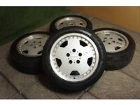 "Genuine WEDS Farmas 16"" Alloy Wheels & Tyres 5x114.3 JDM MR2 Mazda Nissan Toyota Alloys Wedssport"