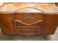 Retro Drinks Cabinet / Side Board (Art Deco Style)