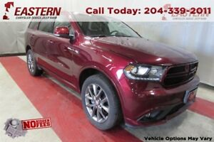 2017 Dodge Durango GT 3.6L V6 4X4 NAV SUNROOF REMOTE STRT A/C CR