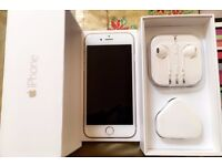 *** Boxed Iphone 6 16GB Gold + 4 free covers/cases ***