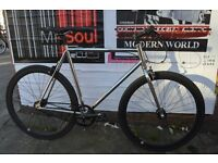 Brand new single speed fixed gear fixie bike/ road bike/ bicycles + 1year warranty & free service