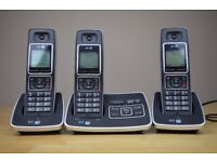 BT 6500 Trio Cordless Dect Telephone Answer - Block Nuisance Callers