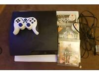 Ps3 slim and 3 games