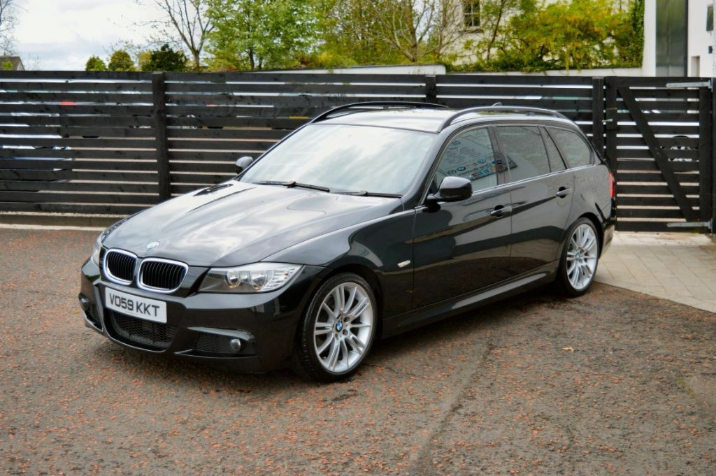 2009 E91 320d M Sport Lci Touring Estate Fsh 2 Keys Low Finance 6 Mth Warranty Not E90 A4 Passat
