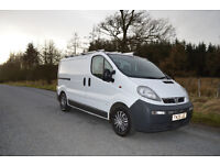 Vauxhall Vivaro Ex BT – Very Low Miles, Twin Side Doors, Fantastic Van