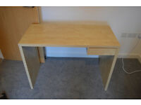 Ikea Lasse Desk Birch finish