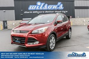 2014 Ford Escape TITANIUM 4WD! LEATHER! PANO ROOF! NAVIGATION! R