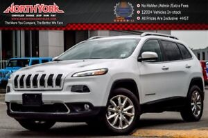 2016 Jeep Cherokee Limited|Nav.|LeatherSeats|Backup_Cam|HtdFrntS