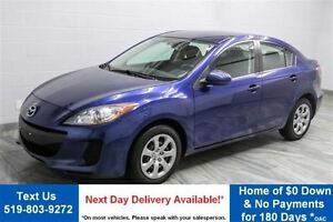 2013 Mazda MAZDA3 GX  NEW BRAKES! CRUISE CONTROL! BLUETOOTH! $46