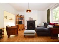 Generous double room in spacious 3 bed house