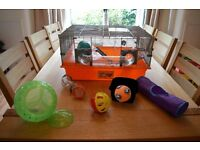 Large Hamster Cage and Accessories (£25 ono)