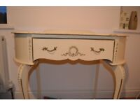Vintage French style 1 drawer dressing table