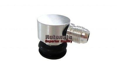 Brake Booster Check Valve Billet Aluminum Vacuum Reservoir Breather Hot Rod GM, used for sale  Chino