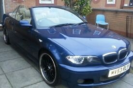 Bmw 325ci msport convertible. 53reg.