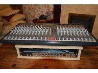 Topaz 24 channel mixing desk