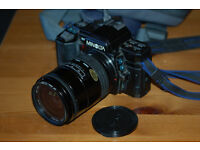 Minolta Dynax 7000 35mm SLR with Sigma 28-80mm AF Zoom and case