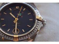 Breitling Reserve De Marche automatic mechanical wristwatch - 90's - shop soiled NOS - Power reserve