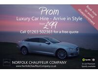 Luxury Prom Chauffeur Transport From £99