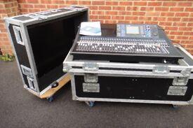 Yamaha Digital 64ch Mixing Desk with Flight case LS9-32