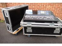 Yamaha Digital 64ch Mixing Desk with Flight case LS9-32