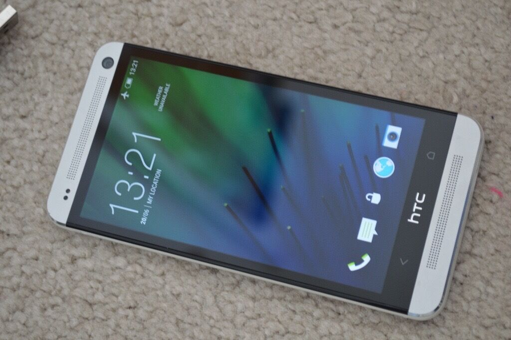 HTC One M7 Silver32GBUnlockedAs NEWin Worsley, ManchesterGumtree - £70 This is my last and final price No Offers. This is 32GB version NOT 16GB The phone is in really mint condition as New . HTC One M7 4G LTE 32GB (Unlocked) LTE Android Sim Free It comes with Chargers , USB cable , thank you
