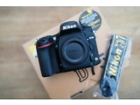 Nikon d750 boxed with all accessorise
