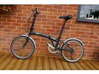 Folding bike in perfect working order, clean and ready to ride