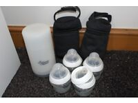 Tommee Tippee Flask and accessories