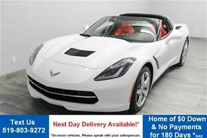 2014 Chevrolet Corvette Stingray 7-SPEED COUPE w/ TARGA TOP! RED