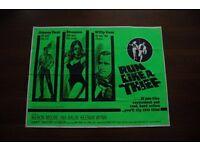 run like a thief ' 1960s film poster