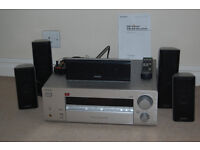 Sony FM Stereo Receiver and Kenwood Speakers (5) Excellent condition with manuals