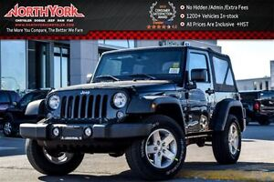 2017 Jeep Wrangler New Car Sports S 4x4|Manual|Pwr Convi.Pkgs|AC