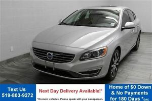 2015 Volvo S60 T6 PREMIER PLUS AWD! LEATHER! SUNROOF! REVERSE CA