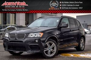 2014 BMW X3 xDrive28i Pano_Sunroof|Backup Cam|Tow Hitch|Pkng S