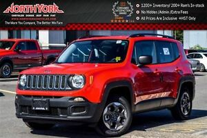 2016 Jeep Renegade NEW Car Sport 4x4|Backup Cam|Sat Radio|Blueto