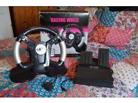 PlayStation 2 Steering Wheel