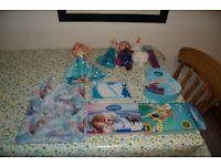 Disney Frozen Toys. Inc. Elsa sing along doll. Massive Bundle. Ex.Cond. Bargain