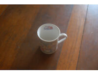 2 retro Teddy bear mugs, 1993 The Britannia Gift company & Stag Housewares